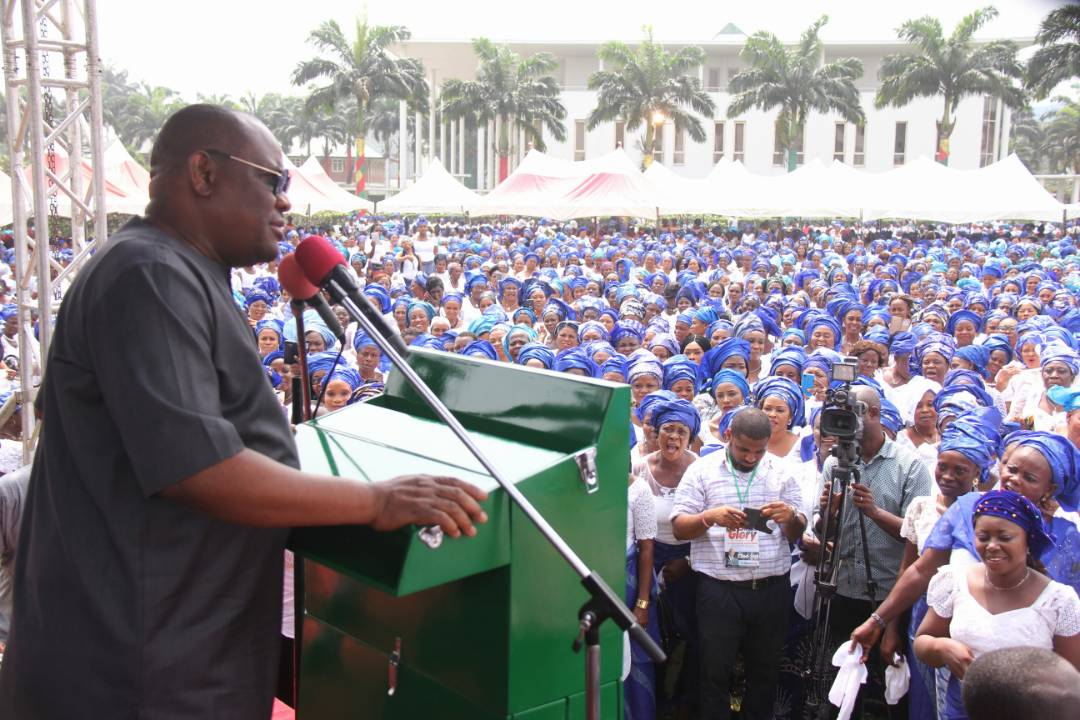RIVERS WOMEN ENDORSE GOVERNOR WIKE FOR SECOND TERM