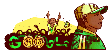 GOOGLE CELEBRATES FOOTBALL LEGEND, STEPHEN KESHI