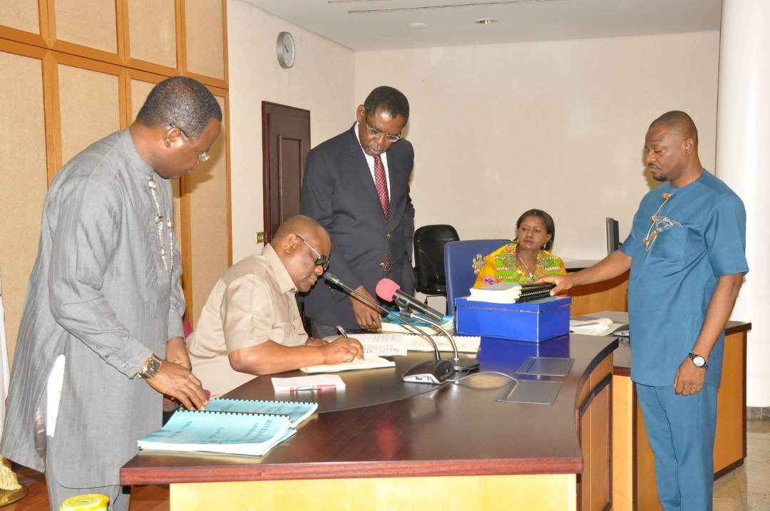 Governor Wike gives assent to 2018 Rivers Budget