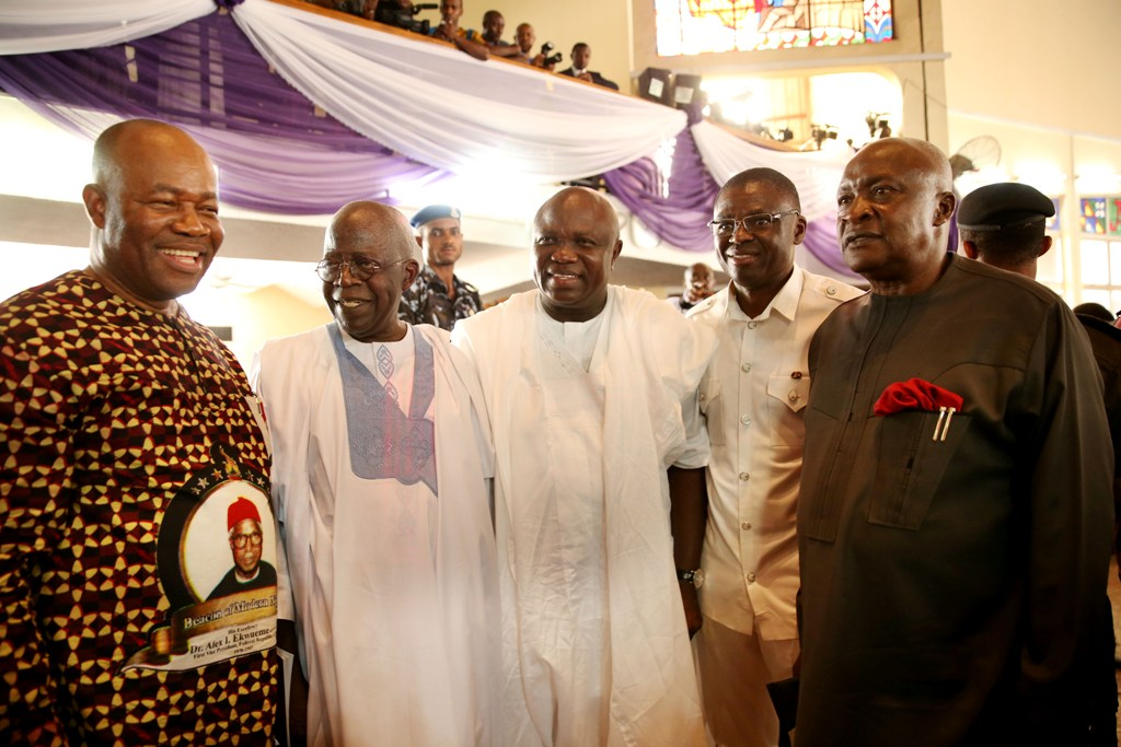 EKWUEME INSPIRED PROFESSIONALS TO GO INTO POLITICS – AMBODE